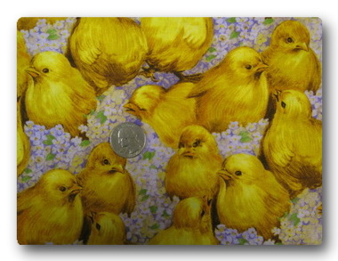 Chicks and Lilacs-