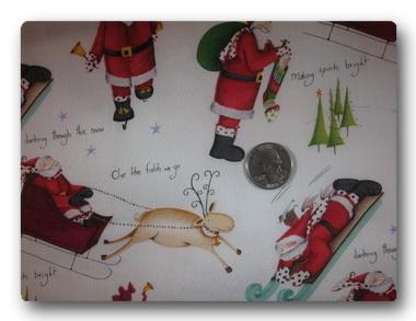 Sledding Santas-