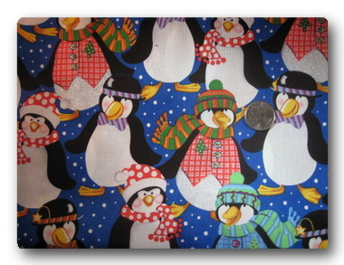 Best-Dressed Christmas Penguins-