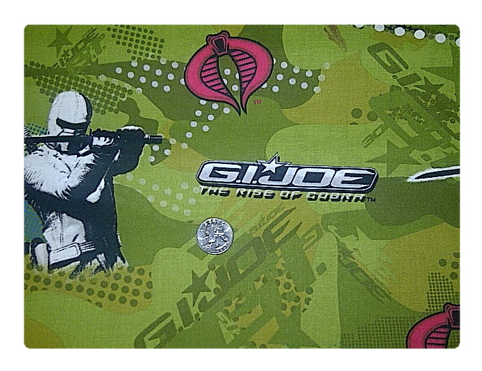 GI Joe ***Larger Print-