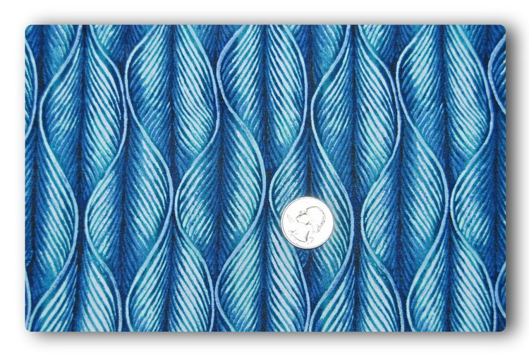 Straight Blue Waves-