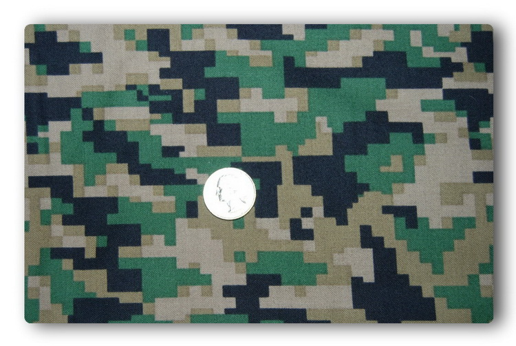 Digital Army Green Camo-