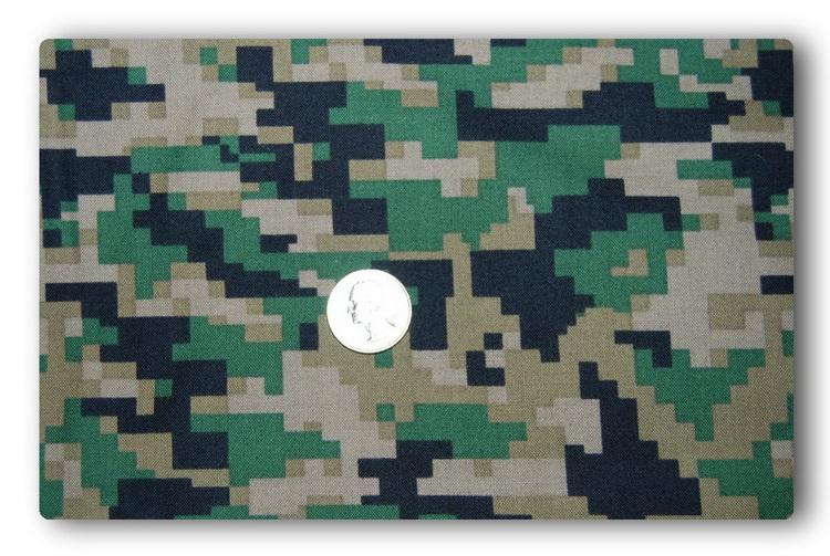 Digital Army Green Camo-