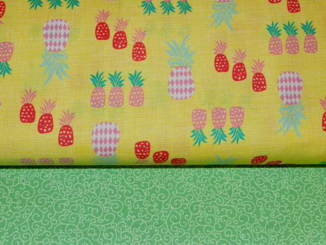 Summer Pineapple Classic Reversible Cap-