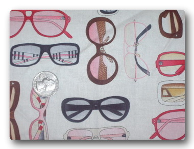 Glasses on White-