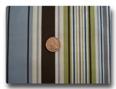 Multi Blue Stripes-