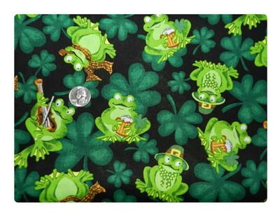 Irish Beer Drinking Frogs-