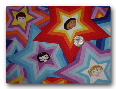 Kids In Stars - St Judes Fabric-