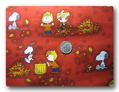 Peanuts Fall-