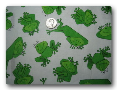 Froggy on White-