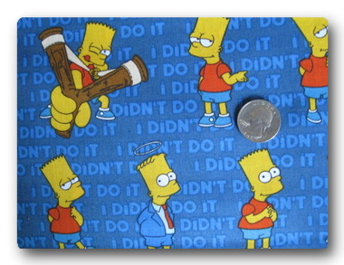 Bart Simpson I Didn't Do It-