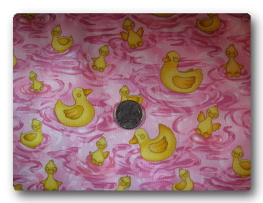 Ducks on Pink-