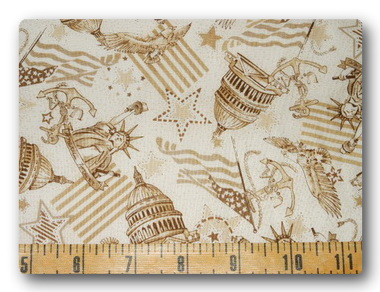 Flag - Beige USA-