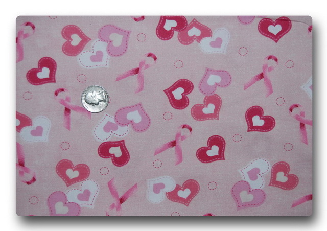 Pink Ribbons and Hearts-