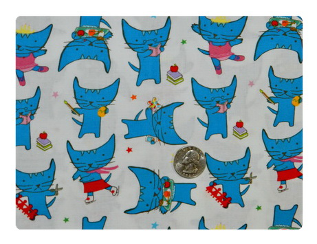 Pixie Pop Blue Cat Goes to School-