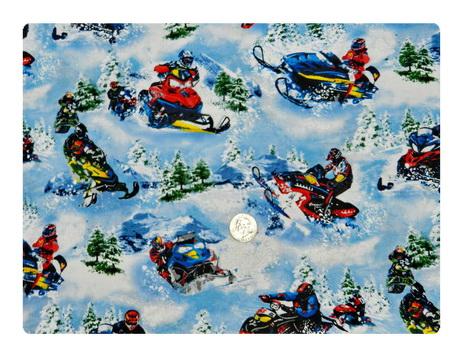 Snow Mobile-
