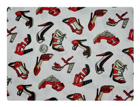 Fierce Red Shoes-