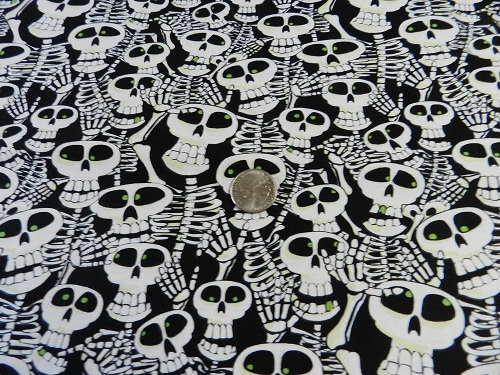Glow in the Dark Skulls-