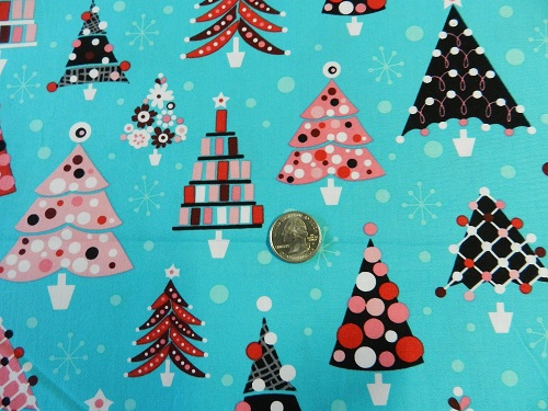 Retro Christmas Trees-