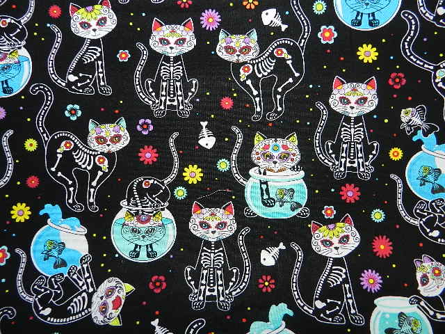 Day of the Dead X Ray Cats-