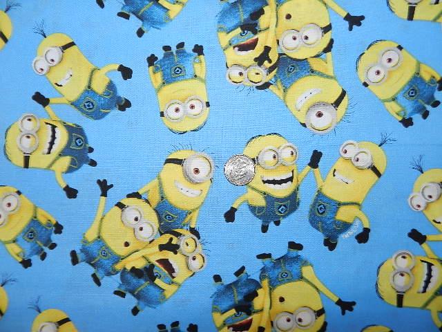 Minions on Blue-