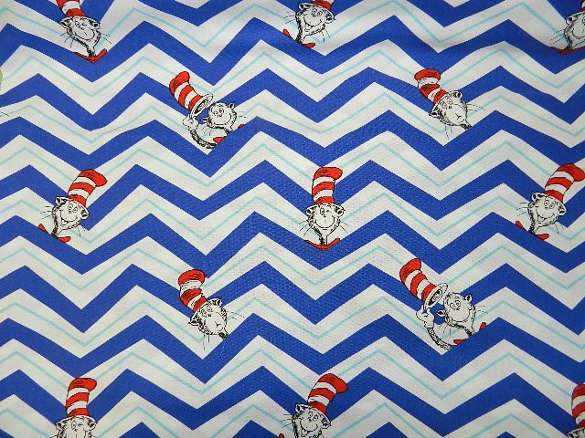 Dr Seuss Chevron-