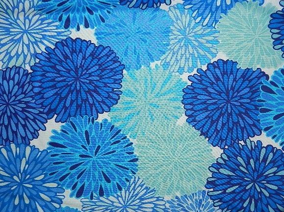 Blue Spring Flowers-