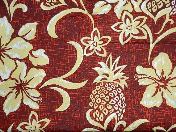 Hawaiian Retro Pineapple-
