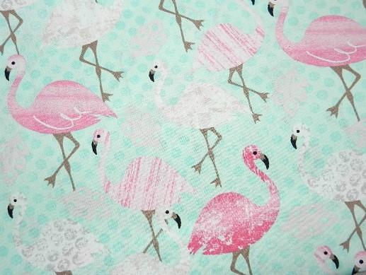 Flamingos Aqua-