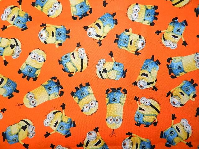 Minions on Orange-