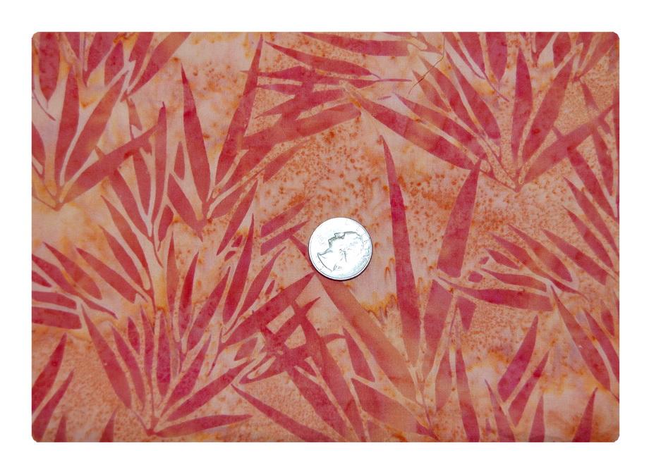 Orange Tie Dye Batik-