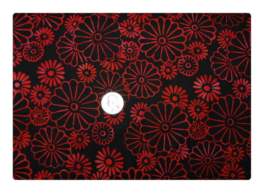 Red Pop Daisy-