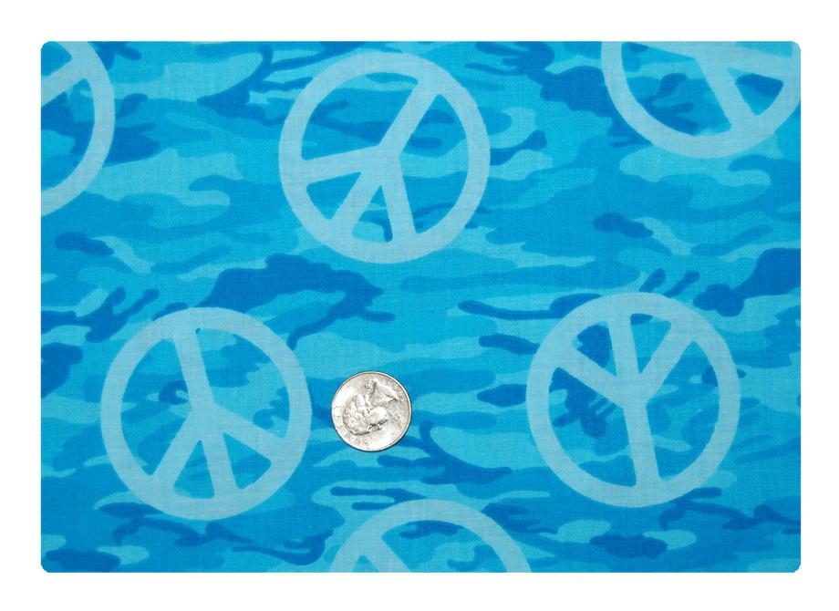 Blue Peace Camo-