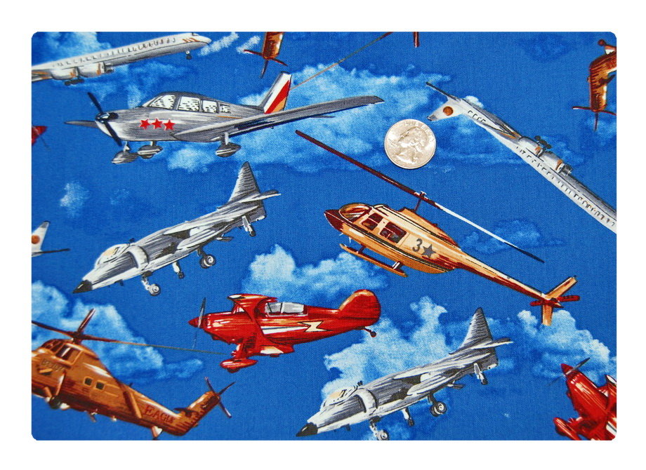Helicopters and Planes-
