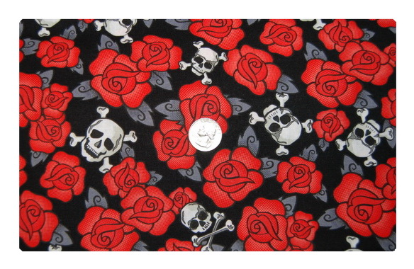 Roses and Skulls-
