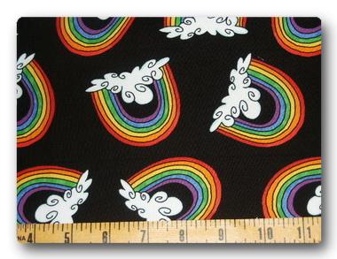 Rainbow on Black-