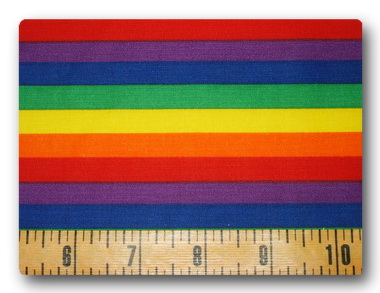 Rainbow Stripes-