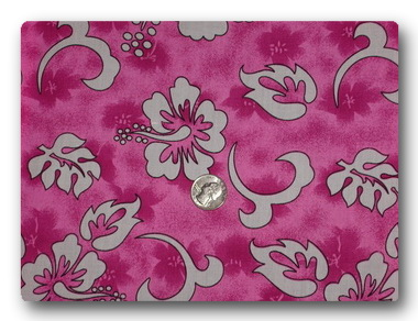 Hawaiian - Bright Pink-