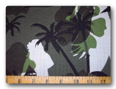 Hawaiian Camo Seersucker-