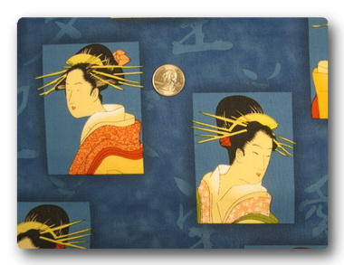 Geisha - Geisha on Blue-