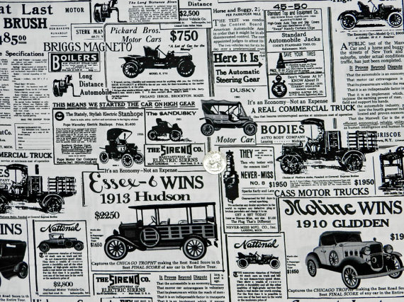 Old Time Automobiles-