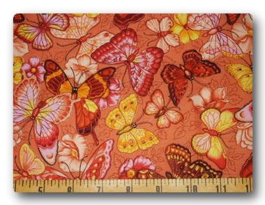 Butterfly - Peach Butterflies-