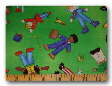 When I Grow Up - St Judes Fabric-