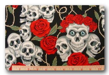 Skull Rose Tattoo-