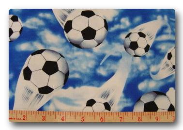 Soccer Balls in Sky-