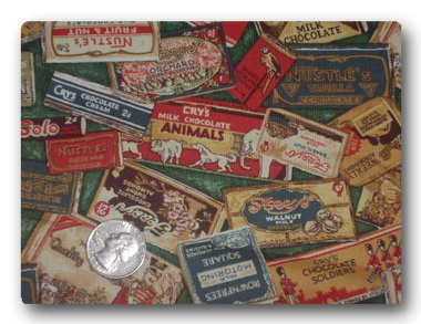 Vintage Chocolate Wrappers-