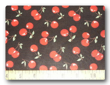 Cherries on Black-